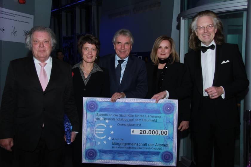 Förderung der Sanierung des Heumarkt Denkmals Gala 2014