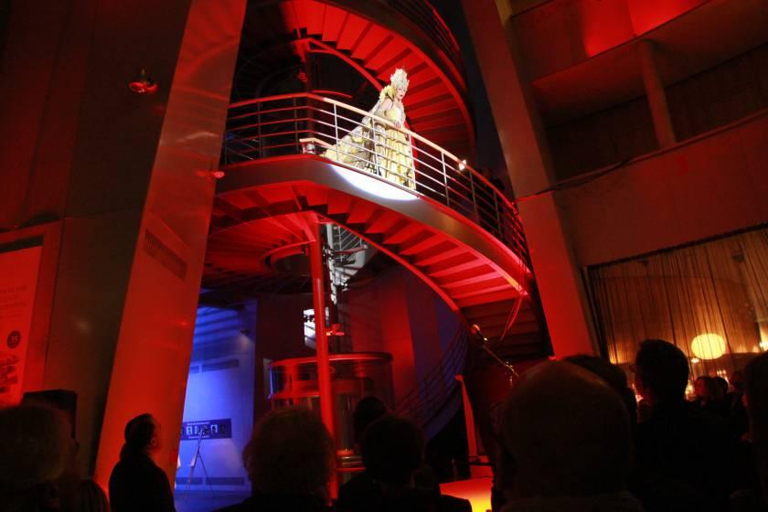 Foyer Schokoladenmuseum Gala 2014