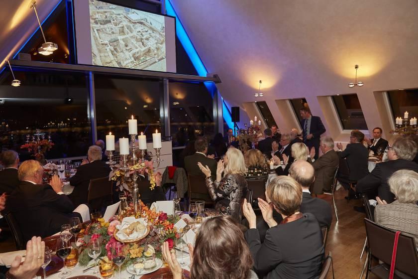 Schaffermahl 2017 Vortrag Dr. Otten zum Jüdischen Museum und der Archäologischen Zone