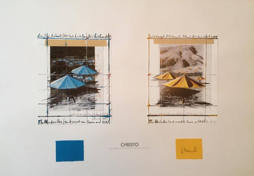 In der Kunst-Auktion: Christo - Umbrellas
